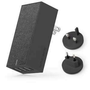 Native Union Smart 4 Port Charge USB Fabric Charger - Slate: Image 3