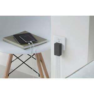 Native Union Smart 4 Port Charge USB Fabric Charger - Slate: Image 6