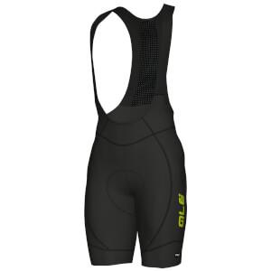 Alé PRR 2.0 Agonista Bib Shorts - Black/Yellow
