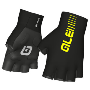 Alé Crono Gloves - Black/Yellow