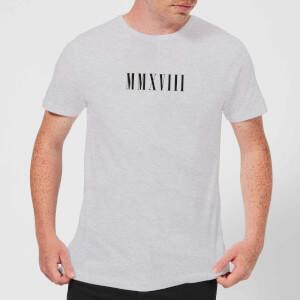 MMXVIII T-Shirt - Grey