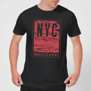 NYC Roman T-Shirt - Black