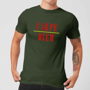 Carpe Diem T-Shirt - Forest Green