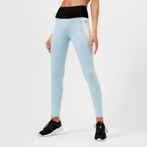 Monreal London Women's Asana Leggings - Frost/White/Black