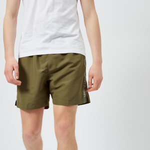 Calvin Klein Men's Swim Shorts - Olive Night