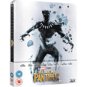 Black Panther 3D (+ Version 2D) - Steelbook Exclusif Limité pour Zavvi - Édition UK