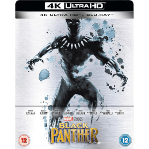 Black Panther - 4K Ultra HD Zavvi Exclusive Limited Edition Steelbook (Includes 2D Version)