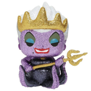 Disney Villains Glitter Ursula EXC Pop! Vinyl Figure