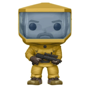 Figurine Pop! Stranger Things Hopper en costume Bio Hazard EXC