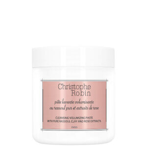 Christophe Robin Cleansing Volumizing Paste with Pure Rassoul Clay and Rose Extracts 75ml