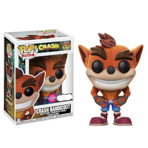 Figurine Pop! Crash Bandicoot Flocked EXC