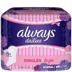 always dailies Singles To Go Trosskydd