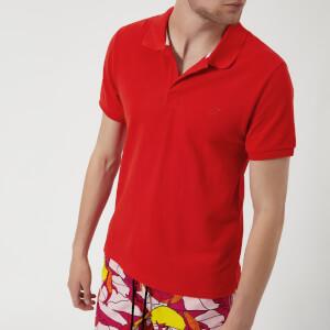 Vilebrequin Men's Palatin Short Sleeve Polo Shirt - Poppy Red