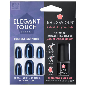 Elegant Touch Nail Saviour - Deepest Sapphire