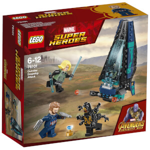 LEGO Super Heroes Marvel Infinity War: Outrider Dropship-Attacke (76101)