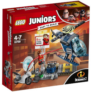 LEGO Juniors Disney Incredibles 2: Dakachtervolging van Elastigirl (10759)