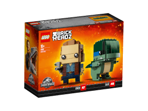 LEGO Brickheadz: Jurassic World Owen & Blue (41614)
