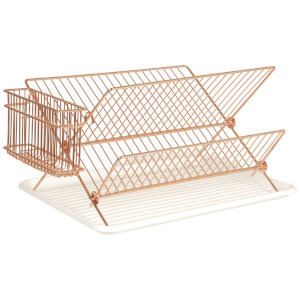 Dish Rack - Copper Plated