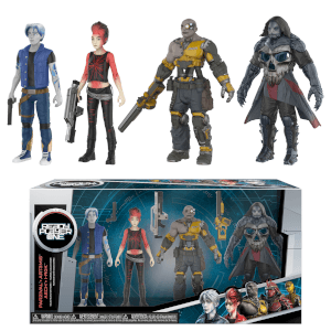 Action Figur: Ready Player One - 4er-Pack
