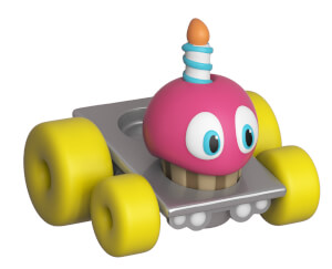 Figurine Funko Super Racers : Five Nights At Freddy's - Cupcake