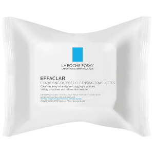 La Roche-Posay Effaclar Towelettes Oil Free Face Wipes