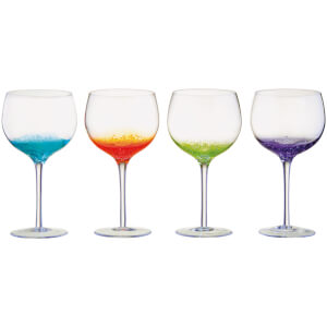 Anton Street Design Fizz Gin Glasses (Set of 4)