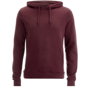Brave Soul Men's Clarence Hoody - Burgundy