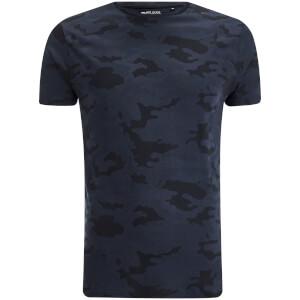 T-Shirt Homme Disguise Camo Brave Soul - Camouflage Bleu