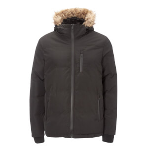 Brave Soul Men's Trailblazer Parka - Black
