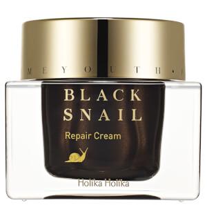 Crème Réparatrice Jeunesse Retrouvée à l'Escargot Noir Black Snail Holika Holika