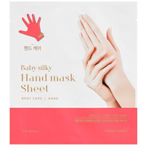 Увлажняющая тканевая маска для рук Holika Holika Baby Silky Hand Mask Sheet