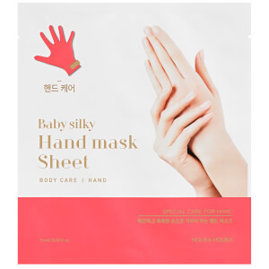 Masque-Tissu Mains Soyeuses Baby Silky Holika Holika