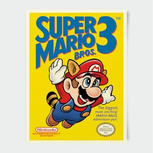 "Póster Nintendo ""Super Mario Bros 3"""