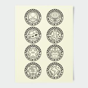 Nintendo Mario Kart Winners Circle Print