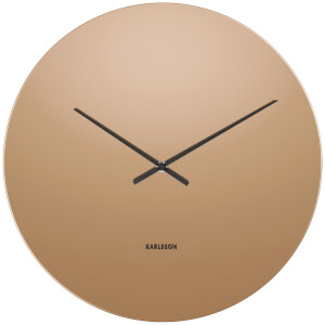 Karlsson Mirage Wall Clock - Copper/Glass Mirror