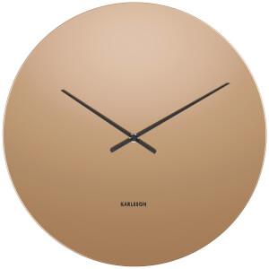 Karlsson Mirage Wall Clock - Copper/Glass Mirror