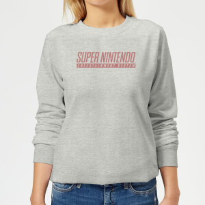 Nintendo SNES  Women's Sweatshirt - Grey