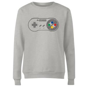 SNES Controller Pad Women's Sweatshirt - Grey