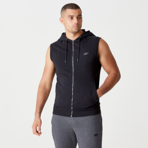 MP Men's Tru-Fit Sleeveless Hoodie 2.0 - Black