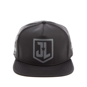 DC Comics Justice League Men's Debossed Logo Cap - Black