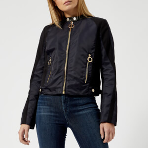 Tommy Hilfiger X GIGI Women's Nylon Bomber Jacket - Midnight/Multi