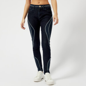 Tommy Hilfiger X GIGI Women's Venice Ankle Racing Leggings - Dark Blue