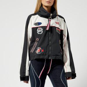 Tommy Hilfiger X GIGI Women's Windbreaker Coat - Black Beauty/Multi