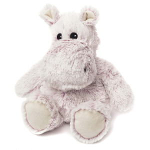Warmies Plush Marshmallow Hippo - Pink