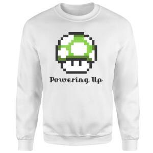 Nintendo Super Mario Powering Up Sweatshirt - White