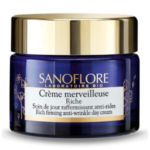 Sanoflore Crème Merveilleuse Rich Firming Anti-Ageing Moisturiser 50ml