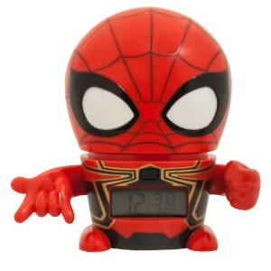 BulbBotz Marvel The Avengers: Infinity Wars Spider-Man Clock (5.5 Inches)