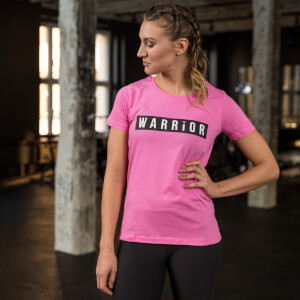 Healthy Madame Warrior T-Shirt - Pink