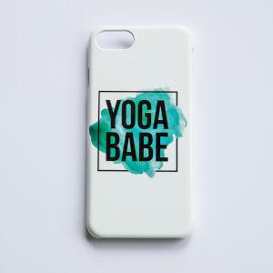 Healthy Madame Yoga Babe Handyhülle - Weiß