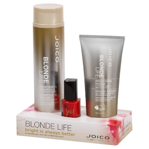 Joico Blonde Life and Nail Varnish Bundle